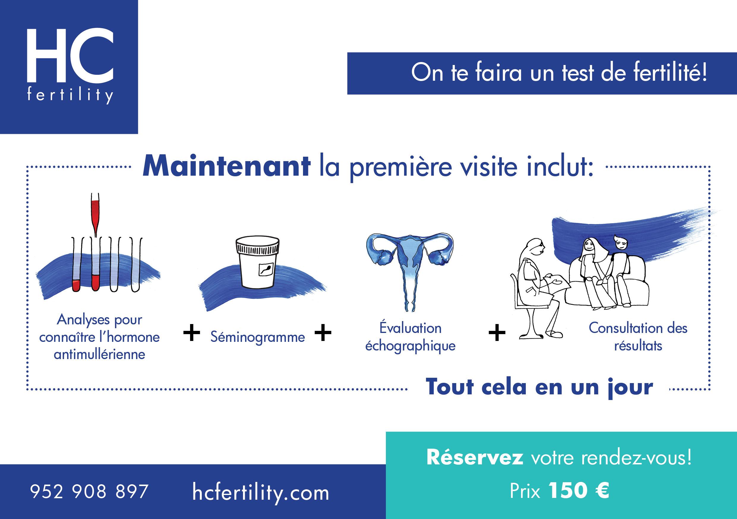Promotion pack fertilité 2019!