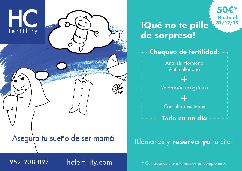 Promoción pack fertilidad mujer