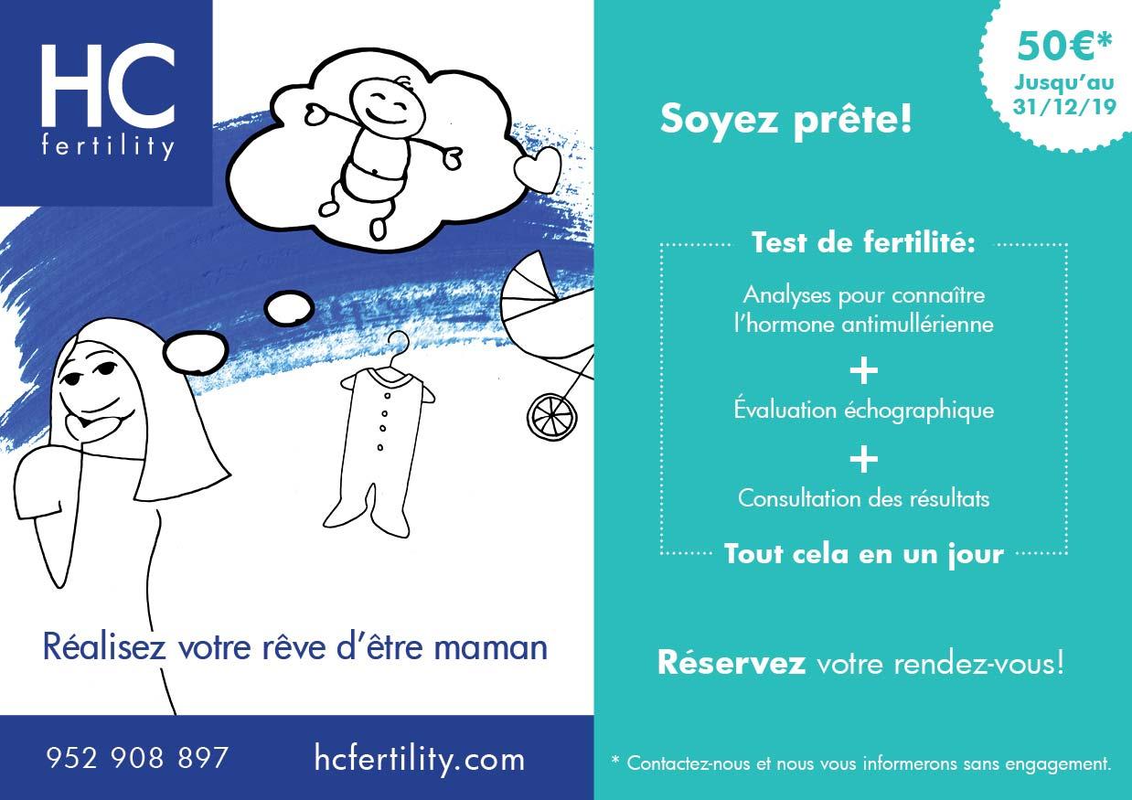 Promotion pack fertilité femme