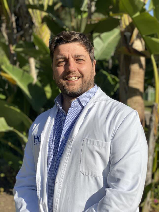 Retrato Dr. Darío Ballesteros