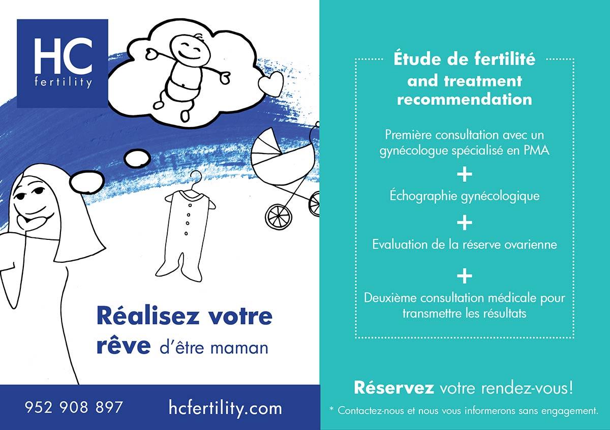 Étude de fertilité femme