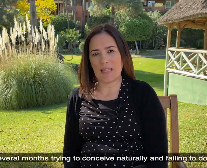 testimonio Silvia,paciente FIV