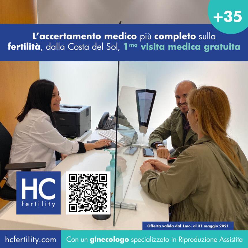 La tua prima consultazione sulla fertilità, ora gratuita