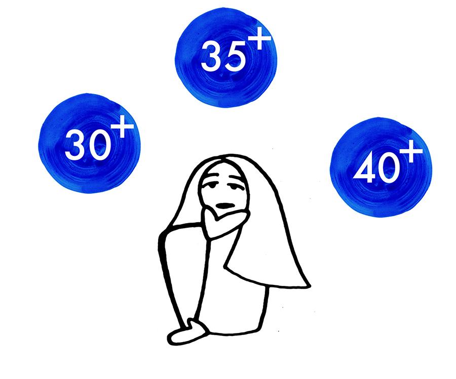 40 años ser mama fertilidad